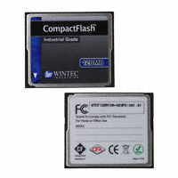 Wintec Industries - W7CF128M1XA-H20PC-001.01 - MEM CARD COMPACTFLASH 128MB SLC
