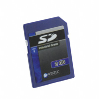 Wintec Industries - W7SD002G1XA-H60PB-02D.02 - MEMORY CARD SD 2GB SLC