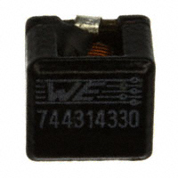 Wurth Electronics Inc. - 744314330 - FIXED IND 3.3UH 9A 9 MOHM SMD