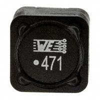 Wurth Electronics Inc. - 744770247 - FIXED IND 470UH 900MA 980 MOHM