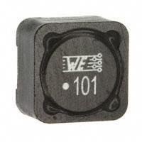 Wurth Electronics Inc. - 74477020 - FIXED IND 100UH 2.2A 220 MOHM