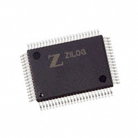 Zilog - Z16F2810FI20SG - IC MCU 16BIT 128KB FLASH 80QFP