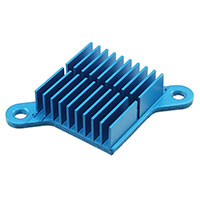 Advanced Thermal Solutions Inc. - ATS-FPX025025010-73-C2-R0 - HEATSINK 25X25X10MM R-TAB FP