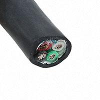 Alpha Wire - 25464 BK005 - XG2 20AWG 7/28 4C FOIL SHLD