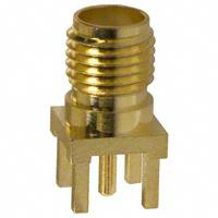 Amphenol RF Division - 132134 - CONN SMA JACK STR 50 OHM PCB