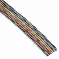 Amphenol Spectra-Strip - 132-2801-014 - CBL RIBN 14COND TWISTPAIR 100'