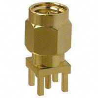 Amphenol RF Division - 901-9895-RFX - CONN SMA PLUG STR 50 OHM PCB