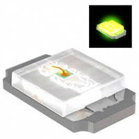 Rohm Semiconductor - SML-P12MTT86 - LED GREEN CLEAR 0402 SMD