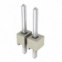 "Samtec Inc. - HTSW-102-07-T-S - CONN HEADER 2POS .1"" T/H"
