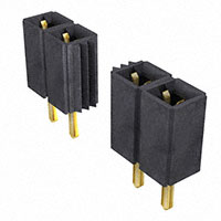 "Samtec Inc. - SLW-150-01-G-S - CONN RCPT .100"" 50POS SNGL GOLD"