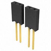 "Samtec Inc. - SSQ-150-03-G-S - CONN RCPT .100"" 50POS SNGL GOLD"