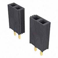 "Samtec Inc. - SSW-150-01-G-S - CONN RCPT .100"" 50POS SNGL GOLD"