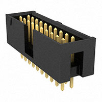 "Samtec Inc. - TSS-110-01-G-D - CONN HEADER 20POS .100"" T/H GOLD"