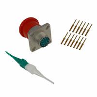 Amphenol Industrial Operations - AL00FD11-35P(IP) - CONN RECPT 13POS WALL MNT W/PINS