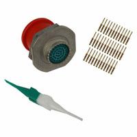 Amphenol Industrial Operations - AL07FD15-35P(IP) - CONN RECPT 37POS JAM NUT W/PINS