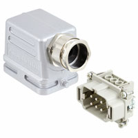 Amphenol Sine Systems Corp - C14610E0069431M - CONN ASSY SIDE ENTRY 6POS M25