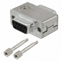 Amphenol Commercial Products - FCE17E09AD240 - FILTER D-SUB 9 POS M/F ADAPTER