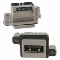 Amphenol Commercial Products - MUSB-A111-30 - CONN RCPT USB SGL STD R/A PCB