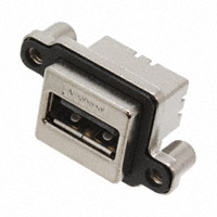Amphenol Commercial Products - MUSBA111M0 - CONN RCPT RUGGED USB A IP67