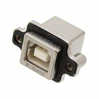Amphenol Commercial Products - MUSBD111M0 - CONN RECPT RUGGED USB B IP67