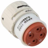 Amphenol PCD - SJS840410 - CONN PLUG HSG FMALE 4POS INLINE