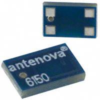 Antenova - A6150 - ANTENNA CHIP 2.4GHZ SMD LEFT FD