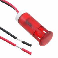 APEM Inc. - QS103XXR12 - INDICATOR 10MM FIXED RD 12V WIRE