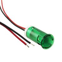 APEM Inc. - QS123XXG12 - INDICATOR 12MM FIXED GR 12V WIRE