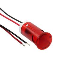 APEM Inc. - QS123XXR12 - INDICATOR 12MM FIXED RD 12V WIRE