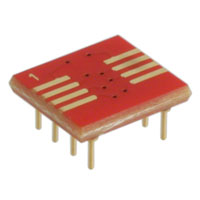 Aries Electronics - 08-350000-11-RC - SOCKET ADAPTER SOIC TO 8DIP 0.3