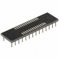 Aries Electronics - 28-350002-10 - SOCKET ADAPTER SOIC TO 28DIP 0.3