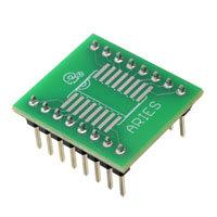 Aries Electronics - LCQT-SOIC16W - SOCKET ADAPTER SOIC-W TO 16DIP