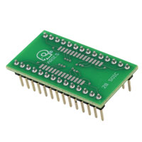 Aries Electronics - LCQT-SOIC28 - SOCKET ADAPTER SOIC TO 28DIP