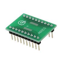 Aries Electronics - LCQT-TSSOP20 - SOCKET ADAPTER TSSOP TO 20DIP