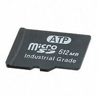 ATP Electronics, Inc. - AF512UDI-OEM - MEMORY CARD MICROSD 512MB SLC