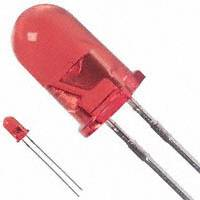 Broadcom Limited - HLMP-3316 - LED RED CLEAR 5MM ROUND T/H