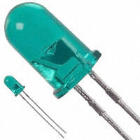 Broadcom Limited - HLMP-3519 - LED GREEN CLEAR 5MM ROUND T/H