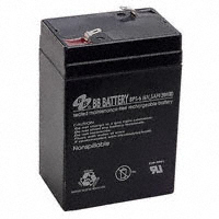 B B Battery - BP5-6T2 - BATTERY LEAD ACID 6V 5AH