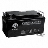 B B Battery - BP65-12-B5 - BATTERY LEAD ACID 12V 65AH