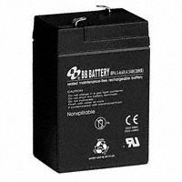 B B Battery - BP4.5-6-T1 - BATTERY LEAD ACID 6V 4.5AH