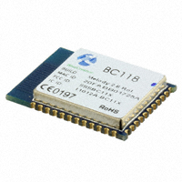 BlueCreation - BC118-1103394 - RF TXRX MOD BLUETOOTH CHIP ANT