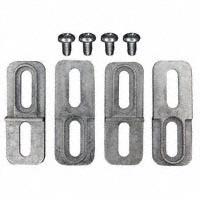 Bud Industries - ANX-1390 - KIT WALL MOUNTING BRACKET NAT