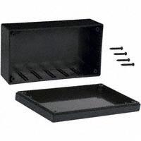 """Bud Industries - CU-1874-B - BOX ABS BLACK 5.31""""L X 2.94""""W"""