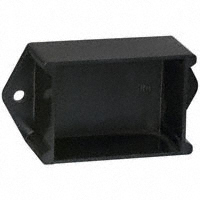 "Bud Industries - PB-1558-BF - BOX ABS BLACK 2""L X 1.5""W"