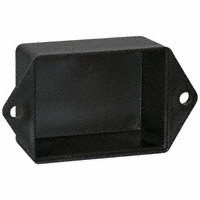 "Bud Industries - PB-1558-TF - BOX ABS BLACK 2""L X 1.5""W"