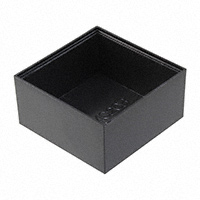 "Bud Industries - PB-1563 - BOX ABS BLACK 1.55""L X 1.55""W"
