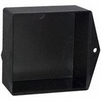 """Bud Industries - PB-1576-TF - BOX ABS BLACK 3""""L X 3""""W"""