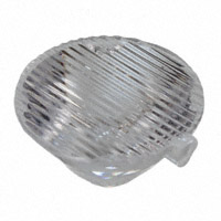 Carclo Technical Plastics - 10198 - LENS TIR 20MM ELLIPT ORTHOGONAL