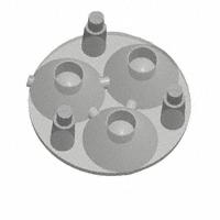 Carclo Technical Plastics - 10507 - LENS ARRAY 20MM TRPL FRONT FLANG
