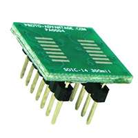 Chip Quik Inc. - PA0004 - SOIC-14 TO DIP-14 SMT ADAPTER
